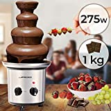 Schokoladenbrunnen 275W - 4 Etagen, Kapazität 1 kg...