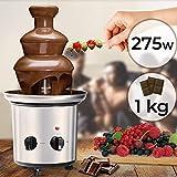 Schokoladenbrunnen 275W - 3 Etagen, 1 kg Schokolade, Größe...