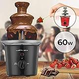 Schokoladenbrunnen 60W - 3 Etagen, 400 gr Kapazität,...