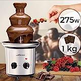 Schokoladenbrunnen 275W - 3 Etagen, Max. Kapazität 1 kg...