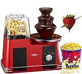 Popcornmaschine für Heimkino, 2-in-1-Popcornmaschine mit...